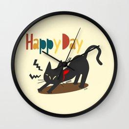 Happy Day Wall Clock