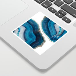 Blue Agate Sticker