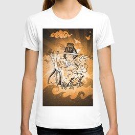 Samurai Woman Art T-shirt