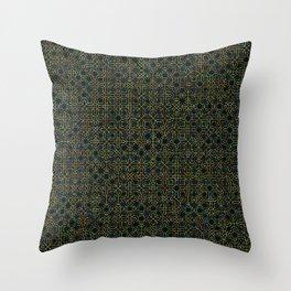 Random Octagonal Pattern  Throw Pillow
