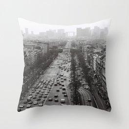 Paris Landscape 2 Throw Pillow