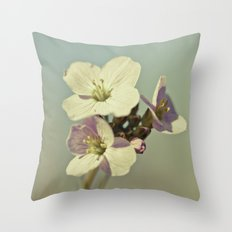 Cuckoo Flower 2 Throw Pillow