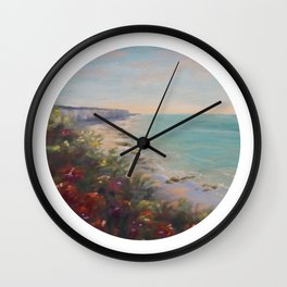 Un ete en Normandie Wall Clock