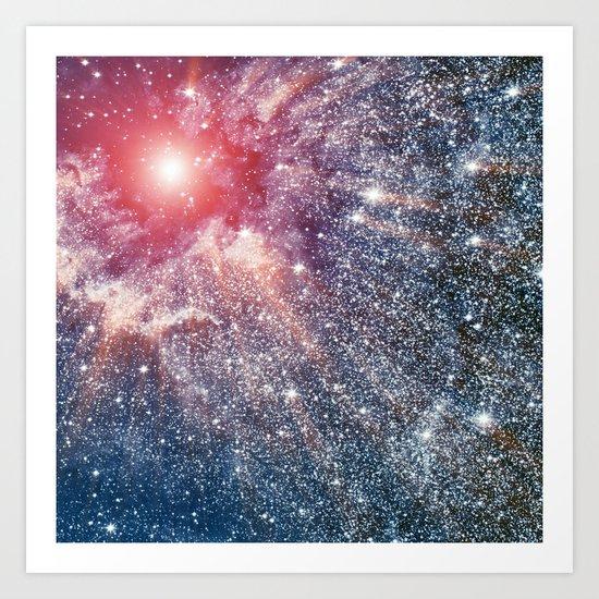 Nebula Art Print