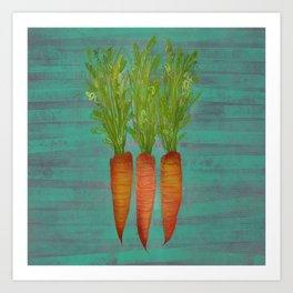 Carrots Upright Art Print