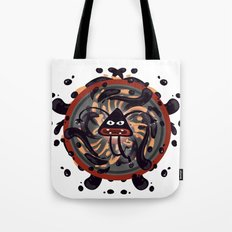 Evil Mandala Tote Bag
