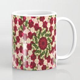 Old Red Rose Kaleidoscope 10 Coffee Mug