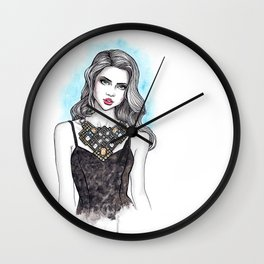 Necklace 03 Wall Clock