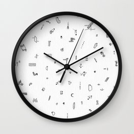 All/over Wall Clock