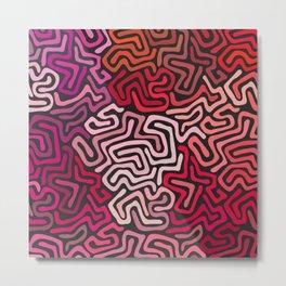 Modern Pattern No. 270 Metal Print