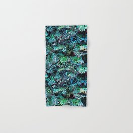 Turquoise Garden of Glass Hand & Bath Towel