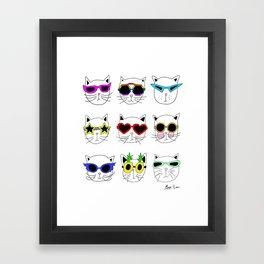 Cool Cats Framed Art Print