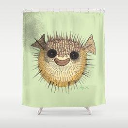 Puff Shower Curtain