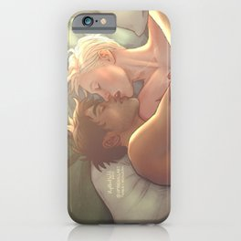 a whispered good morning iPhone Case