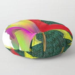 Spartan Helmet Colorful Floor Pillow