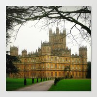 downton abbey Canvas Prints featuring Downton Abbey Licious  by seardig