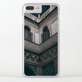 Royal Alcázar, Seville Clear iPhone Case
