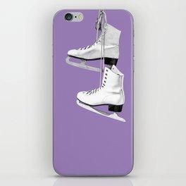 Ice Queen - purple iPhone Skin