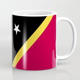 Saint Kitts and Nevis flag emblem Coffee Mug
