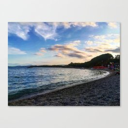 Sardinian beach Canvas Print