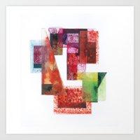Materiality Art Print