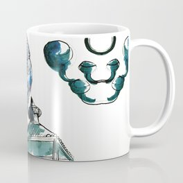 Blue crow Coffee Mug