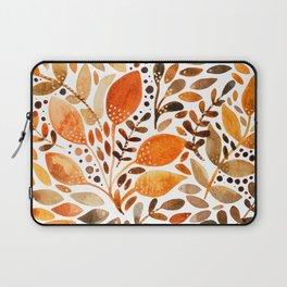 Autumn watercolor leaves Laptop Sleeve