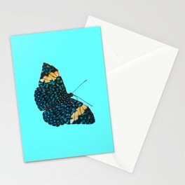 Butterfly on Blue Stationery Cards
