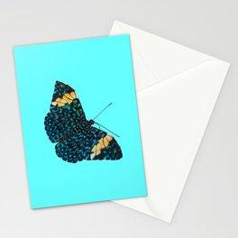Butterfly on Blue Stationery Cards
