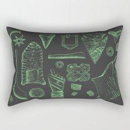Artifact Illustrations Rectangular Pillow