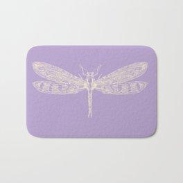 Lavender Dragonfly Bath Mat