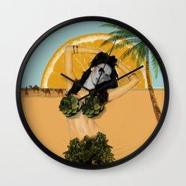It's Desert Time Wall Clock