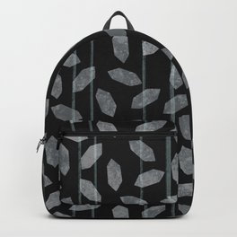 Crystal Clear - Black and White Backpack