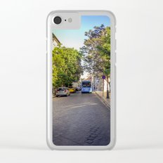 BUS IN BUDAPEST Clear iPhone Case