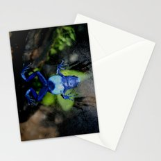 Poison Dart Frog Belly- Dendrobates Azureus Stationery Cards