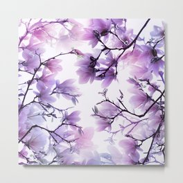 Magnolia purple 074 Metal Print