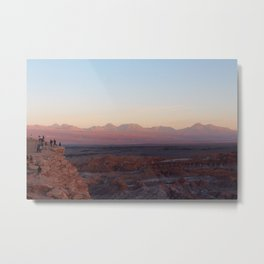Moon Valley - Valle de la Luna Metal Print