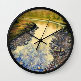 Up A Creek Wall Clock
