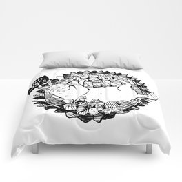 Jajan Pasar Meow Comforters