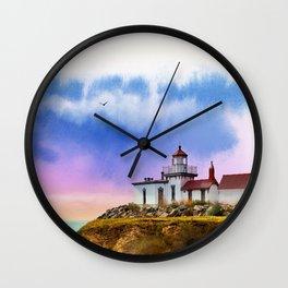The Island Of Kefalonia, Greece Wall Clock
