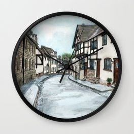 Mill Street North, Warwick U.K. Wall Clock