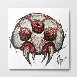 Baby Metroid Metal Print