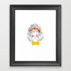 Elizabeth Framed Art Print