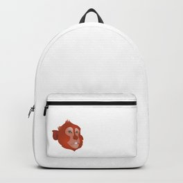 Red Monkey Backpack