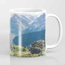Swiss Alps Summer Landscape Coffee Mug