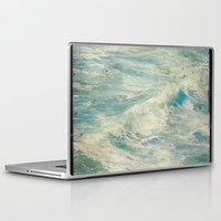 big sur Laptop & iPad Skins featuring Big Sur - Pacificus Wondrous  by Jenndalyn