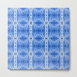 221 - Abstract Snowsquall design Metal Print