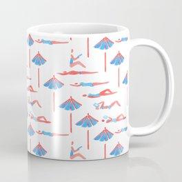 sunbathing pattern Coffee Mug