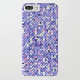 Knitted multicolor pattern 6 iPhone Case