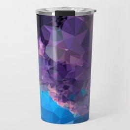 Geometric Galaxy Low Poly 1 Travel Mug